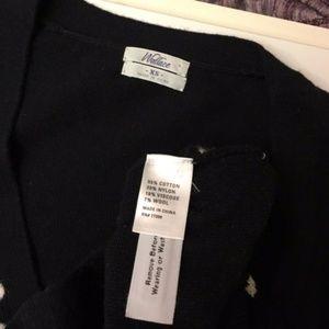 Madewell Sweaters - Wallace MADEWELL bow print Cardigan sweater xs